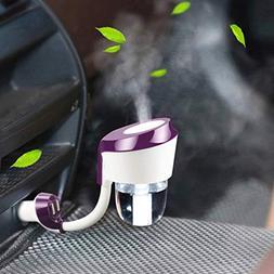 Vyaime Car Diffuser Humidifier Aromatherapy Essential Oil Di