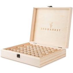 Essential Oil Case/Box by Terramore. Large 68 Bottle Storage