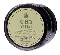 CBD Daily Intensive Cream THC Free Essential Oil Muscle Join