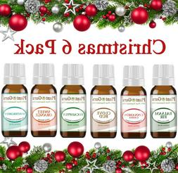 christmas holiday essential oil set pure aromatherapy