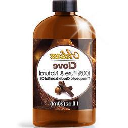 Artizen Clove Essential Oil  Therapeutic Grade - Huge 1oz Bo
