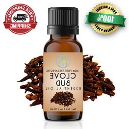 Clove Bud Essential Oil 10 ml 100% Pure & Natural Therapeuti