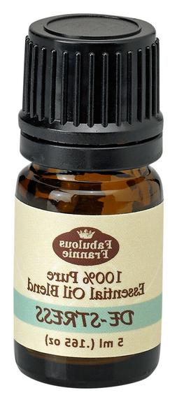 De-Stress 5ml Pure Essential Oil Blend BUY 3 GET1 by Fabulou