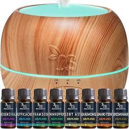 Art Naturals Essential Oil Diffuser 100ml and Top 8 Essentia