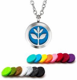 Plant Guru Essential Oil Diffuser Necklace Aromatherapy Jewe