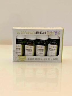 Aura Cacia Essential Oil Discovery Kit w/Learning Guide Lave