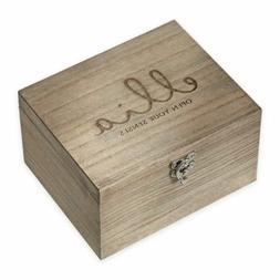 Ellia Essential Oil Wood Storage Box Holds 20 Essential Oils