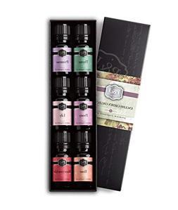 English Garden Set of 6 Fragrance Oils - Premium Grade Scent