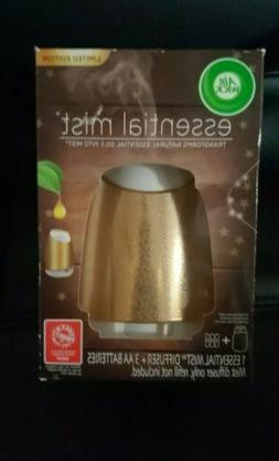 Air Wick Essential Mist Limited Edition Gold Mist Diffuser +