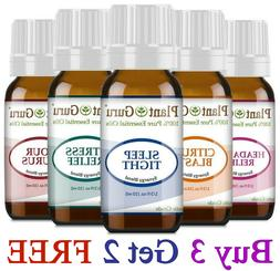 Essential Oil Blends 10 ml. 100% Pure Therapeutic Grade Oils