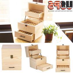 Essential oil case wood storage presentation of 5ml to 15ml