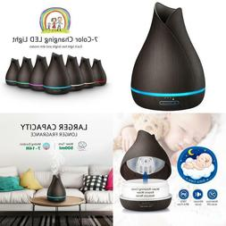 VicTsing 500ml Essential Oil Diffuser, Reduce Noise Design -