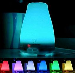 Radha Beauty Essential Oil Diffuser 7 Color Changing 120 ml