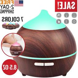 Essential Oil Diffuser Humidifier Scent Air Burner Aromather