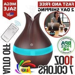 Essential Oil Diffuser Ultrasonic Aroma Therapy Scent Air Bu
