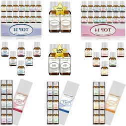 Essential Oil Set 100% Pure Therapeutic Grade Oils Bulk Whol