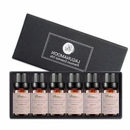 Lagunamoon Essential Oil Set 6 Pack 100% Pure Natural Therap