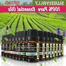 Essential Oils 10/30mL 100% Pure and Natural Therapeutic Gra
