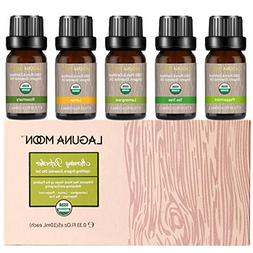 Lagunamoon Essential Oils Top 5 USDA Certified Organic Essen