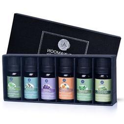 Lagunamoon Essential Oils Gift Set,Top 6 Aromatherapy Oils O