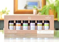 Essential Oils Kit - 100% Pure Certified Organic - Premium T