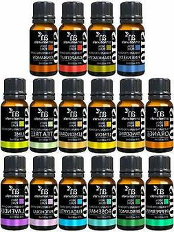Essential Oils Set 16pc for Air Diffuser Aroma Therapy Humid