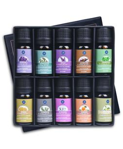 Lagunamoon Essential Oils,Top 10 Pure Aromatherapy Oils Gift