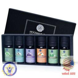 Essential Oils Top 6 Gift Set Pure For Diffuser Humidifier M
