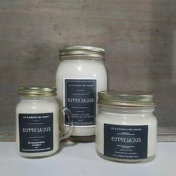 Eucalyptus Essential Oil - Essential Oil Candles | Soy Candl