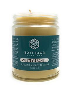 Eucalyptus Scented All Natural 100% Pure Beeswax Aromatherap