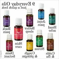 Young Living Everyday Oils Collection - 10 Oils/5ml