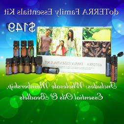 DoTerra Family Essential Oil Kit +FREE Wholesale Membership