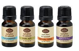 Favorite 4 - Pure Therapeutic Essential Oil Set - 10ml