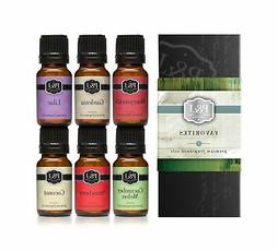 Favorites Set of 6 Premium Grade Fragrance Oils - Strawberry