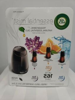 Air Wick Fragrance Mist Natural Essential Oils, 1 Diffuser +