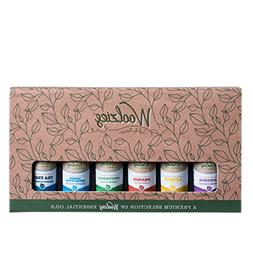 Woolzies Gift Set of 6 Popular Essential Oils, Lavender, Swe