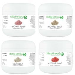 Green Health Clay Sampler Set  - Free Shipping