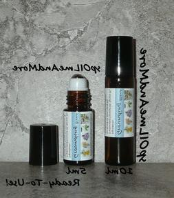 grounding balance essential oil blend roller promotes