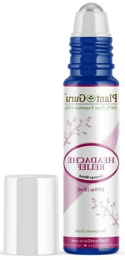 Headache Relief Synergy Essential Oil Blend 10 ml. Roll On P