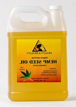 Hemp Seed Oil Refined Organic Carrier Cold Pressed Pure 128