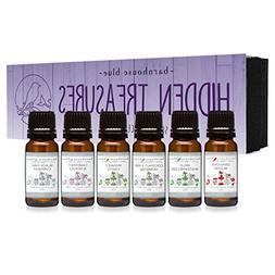 Hidden Treasures Gift Set of 6 Premium Fragrance Oils - Coco