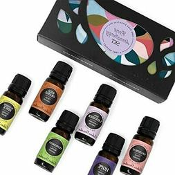 Home Aroma Set 100% Pure Therapeutic Grade Essential Oil Kit