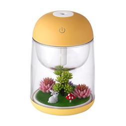 New Humidifier Usb Landscape Lamp Essential Littleice Oil Di
