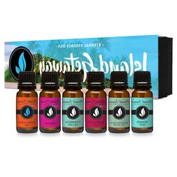 Island Getaway Gift Set of 6 Premium Fragrance Oils - Barrie