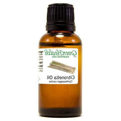 1 fl oz Citronella Essential Oil  - GreenHealth