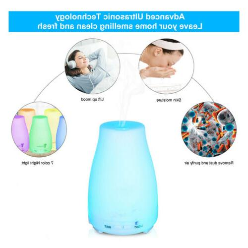 Aromatherapy Diffuser Cool Mist Humidifier 7Color