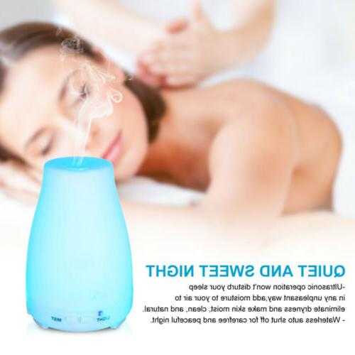 Aromatherapy Oil Aroma Diffuser Humidifier 7Color
