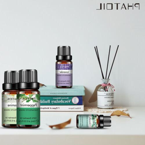 PHATOIL Essential 100% Pure Aromatherapy Yoga Fragrances Oils