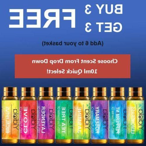 10ml essential oils 100 percent pure natural
