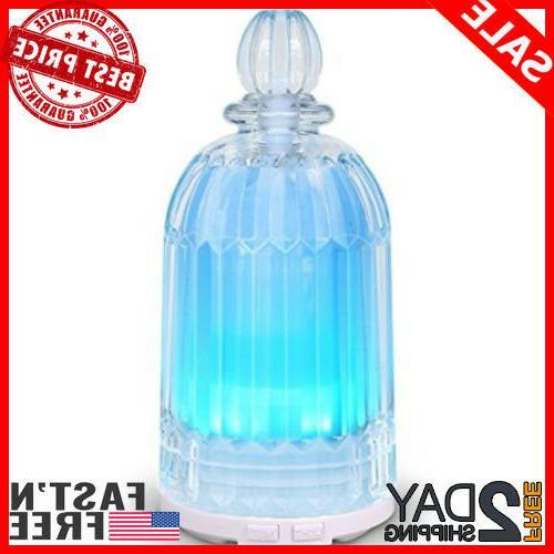 120ML Glass Oil Diffuser Ultrasonic Aromatherapy diffuser fo
